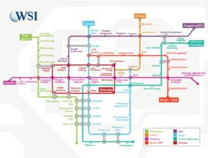 Digital Strategy Map by WSI