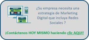 Botón contacto estrategia digital en Redes Sociales - Social Selling - Digital Profit - Agencia de Marketing Digital