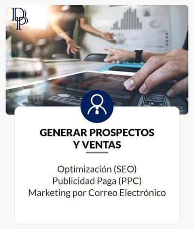 Objetivos de Marketing Digital - Generar Prospectos y Ventas - DP Digital Profit - Agencia Digital