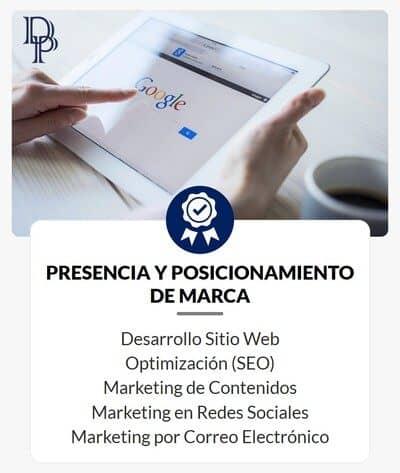 Objetivos de Marketing Digital - Presencia y Posicionamiento de Marca - DP Digital Profit - Agencia Digital